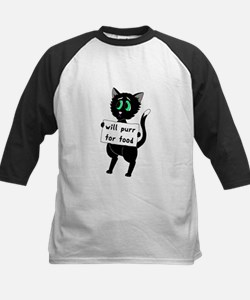 Will Purr For Food Tee