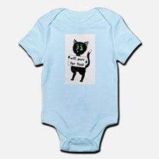 Will Purr For Food Infant Bodysuit