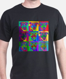 Op Art Pitbull T-Shirt
