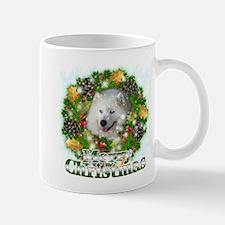 Merry Christmas Samoyed Mug