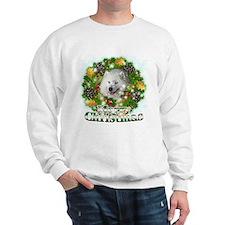 Merry Christmas Samoyed Sweatshirt