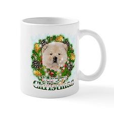 Merry Christmas Chow Chow Mug