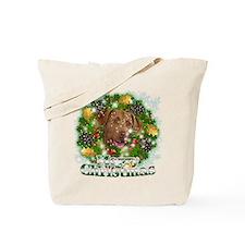 Merry Christmas Chesapeake Ba Tote Bag