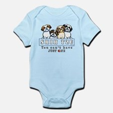 Shih Tzu Just One Dk Body Suit