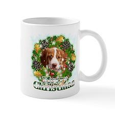 Merry Christmas Brittany Span Small Mug
