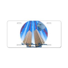 Memorial 9/11 Aluminum License Plate