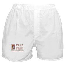 WWAT? Boxer Shorts