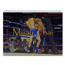 Muay Thai Wall Calendar