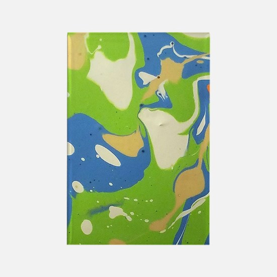 Cool Acrylic paintings Rectangle Magnet