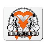 Leukemia Ride For A Cure Shir Mousepad