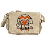 Leukemia Ride For A Cure Shir Messenger Bag