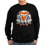 Leukemia Ride For A Cure Shir Sweatshirt (dark)