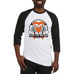 Leukemia Ride For A Cure Shir Baseball Jersey