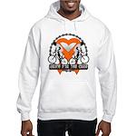 Leukemia Ride For A Cure Shir Hooded Sweatshirt