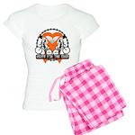 Leukemia Ride For A Cure Shir Women's Light Pajama