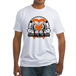 Leukemia Ride For A Cure Shir Fitted T-Shirt