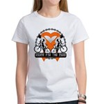 Leukemia Ride For A Cure Shir Women's T-Shirt