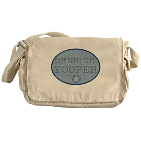 Genuine Yooper Messenger Bag