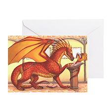 Mentor Dragon Greeting Card