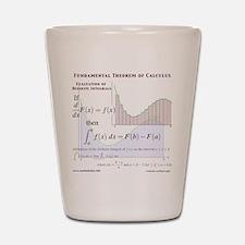 Fundamental Theorem of Calculus Shot Glass