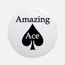 Amazing Ace Ornament (Round)