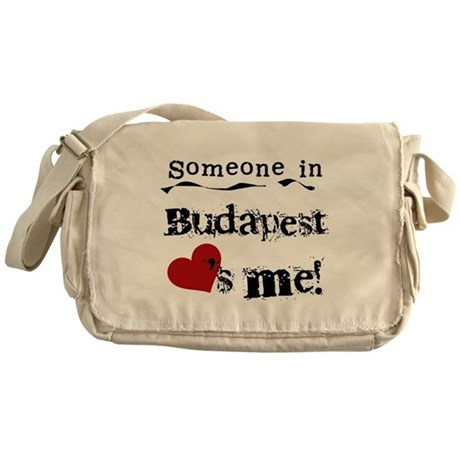 Someone in Budapest Messenger Bag