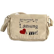 Lansing Loves Me Messenger Bag