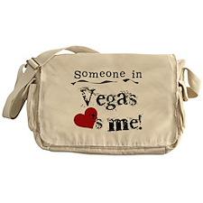 Vegas Loves Me Messenger Bag