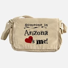 Someone in Arizona Messenger Bag