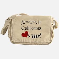 Someone in California Messenger Bag