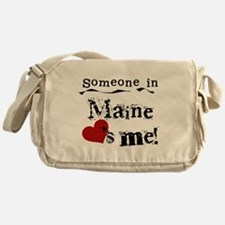 Someone in Maine Messenger Bag