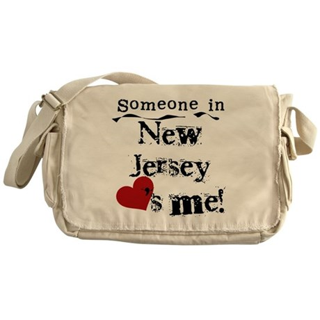 Someone in New Jersey Messenger Bag