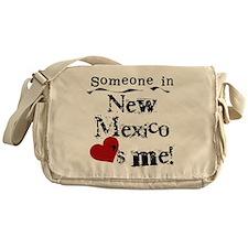 New Mexico Loves Me Messenger Bag