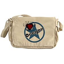 Love Oregon Messenger Bag