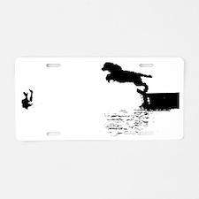 Handler Rescue Jump Aluminum License Plate