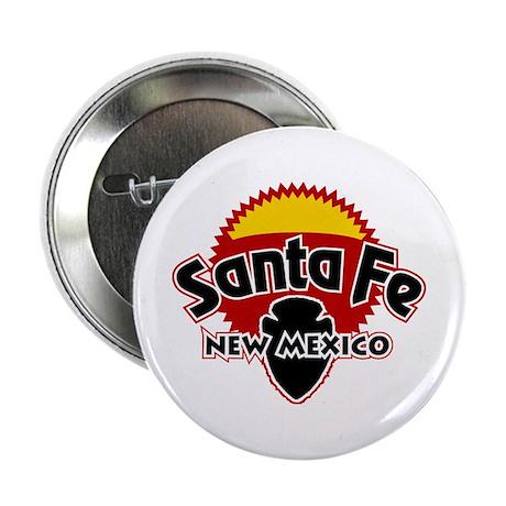 """Santa Fe Sun 2.25"""" Button"""