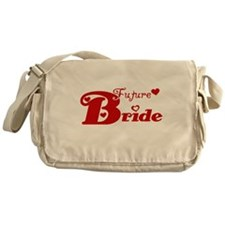 Future Bride (red) Messenger Bag