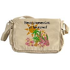 Honeymoon Cozumel Messenger Bag