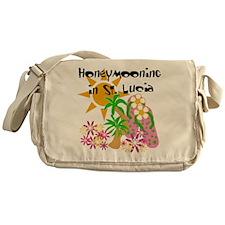 Honeymoon St. Lucia Messenger Bag