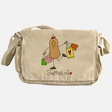 Shopping Nut Messenger Bag