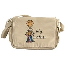 Big Brother With Little Sister Messenger Bag