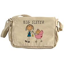 Big Sister With Little Sis Messenger Bag