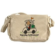 Retired and Golfing Messenger Bag