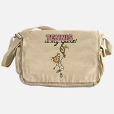 Tennis is my Sport Messenger Bag