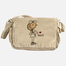 Girl I Love Tennis Messenger Bag