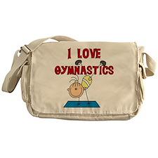 I Love Gymnastics Messenger Bag
