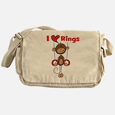 Love Rings Gymnast Messenger Bag