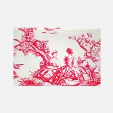 FRENCH TOILE Rectangle Magnet