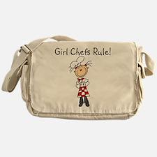 Girl Chefs Rule Messenger Bag