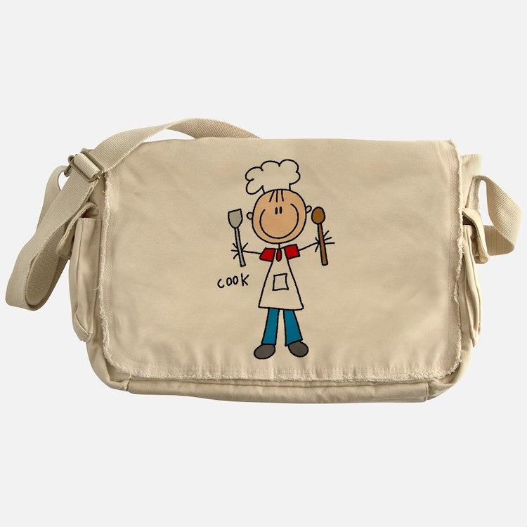 Professions Cook Messenger Bag